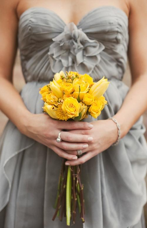 Wedding - Grey   Yellow