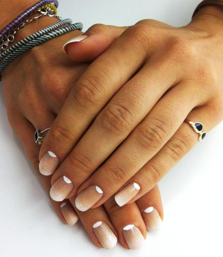 Nail - Faded French Manicure #2069265 - Weddbook