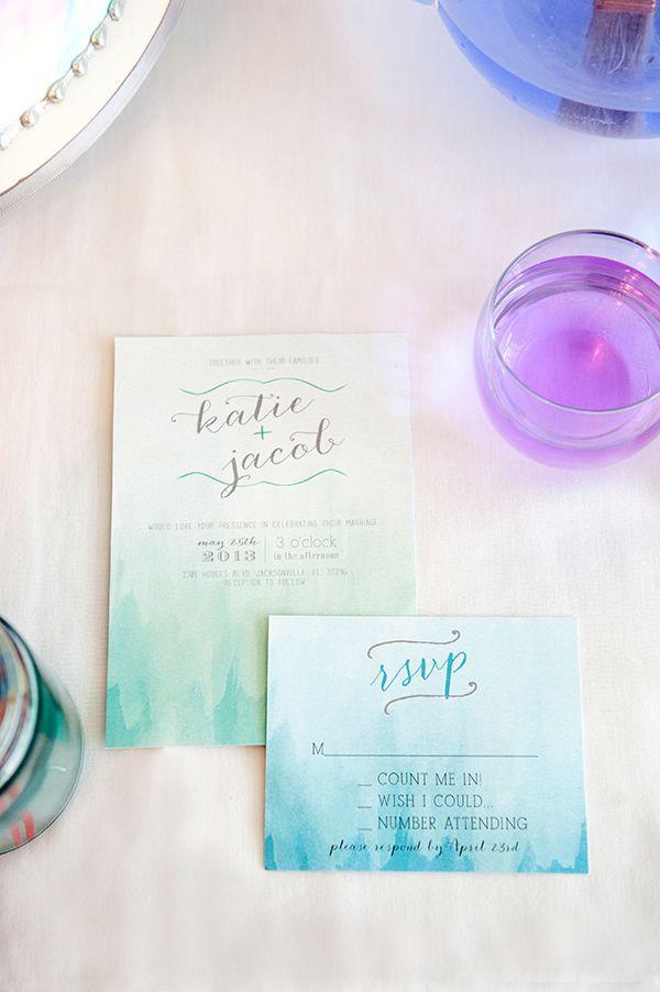 Wedding - Watercolor Wedding Ideas