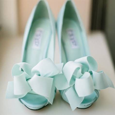 Mint Wedding - Mint Wedding Shoes #2069455 - Weddbook