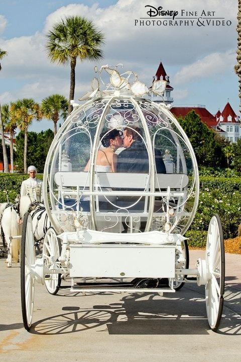 Wedding - Cinderella's Coach