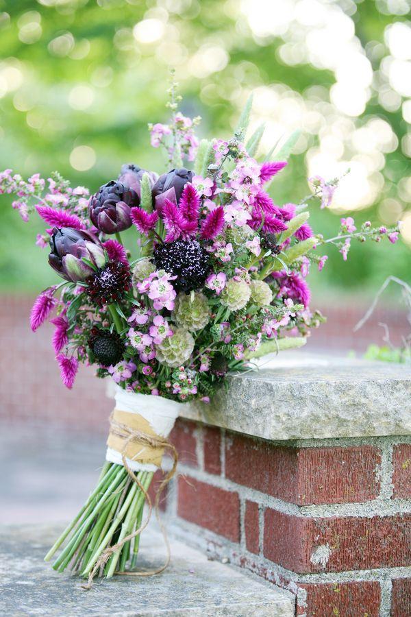 Mariage - Guide des fleurs: Ferme inspiré
