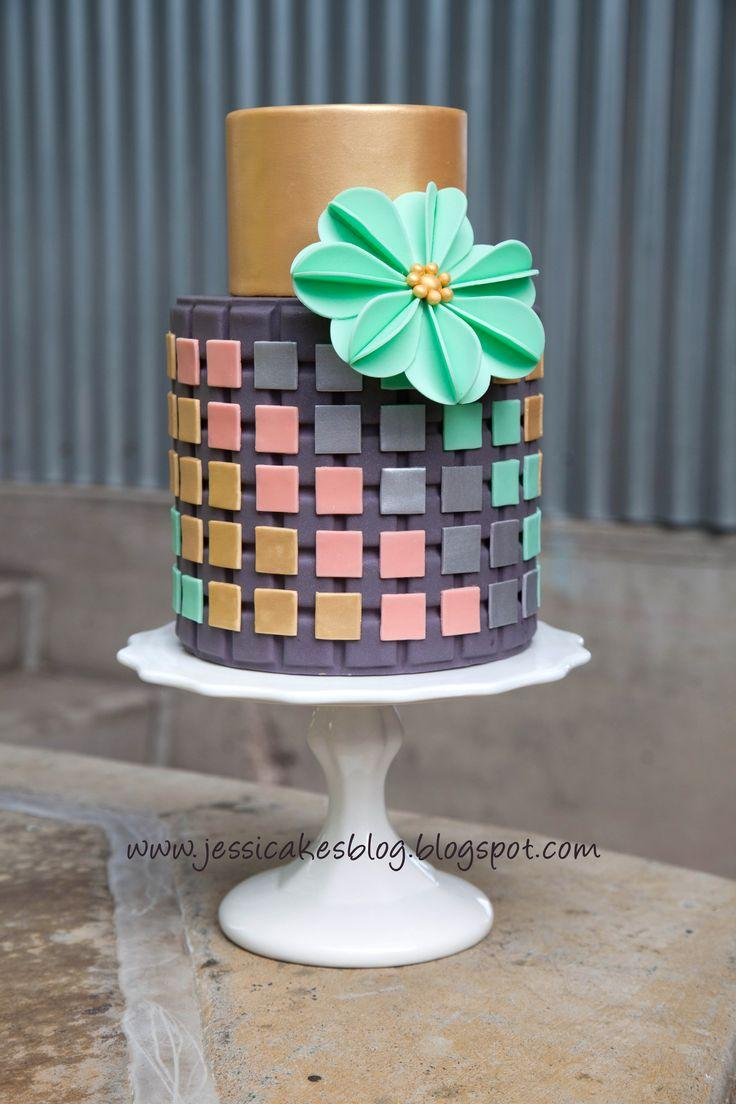 Modern Cake Decoration With Royal Icing : Modern Wedding - Modern Wedding Cakes #2069850 - Weddbook