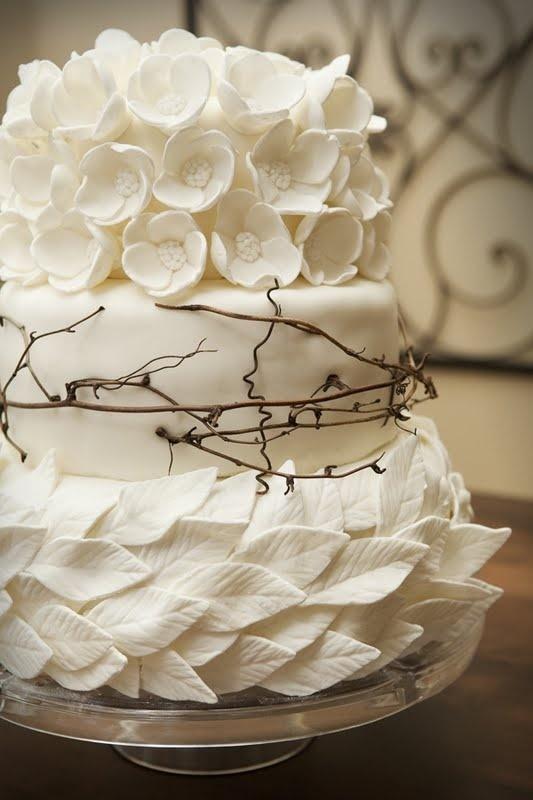 Свадьба - 3 слоя торта - вдохновение от природы.