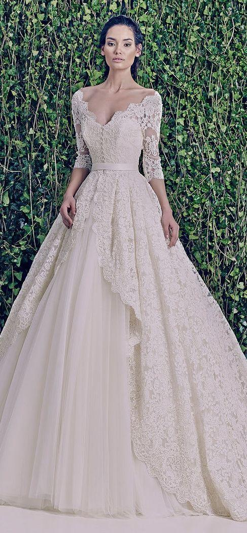 Dress - Zuhair Murad Bridal F/W 2014-2015 #2070030 - Weddbook
