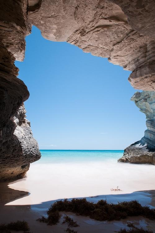 Свадьба - Пещера На Маяк Пляжа, Багамские Острова