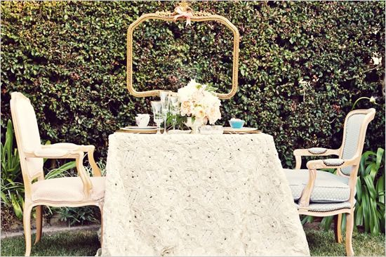 Свадьба - Английский Чай Тема Свадьбы Идеи
