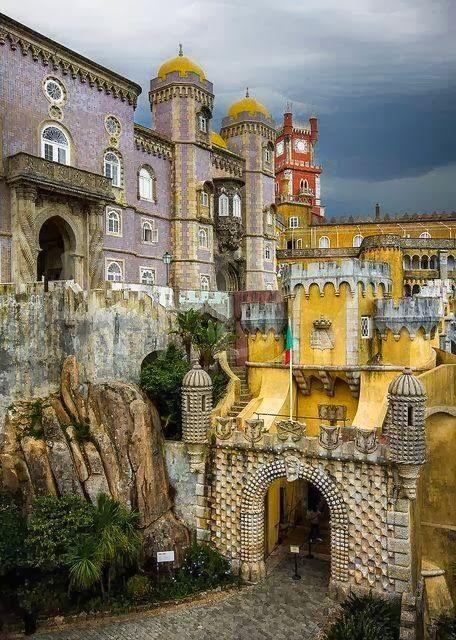 0 Interest Car Deals >> Honeymoon - Pena Castle, Sintra, Portugal #2070301 - Weddbook