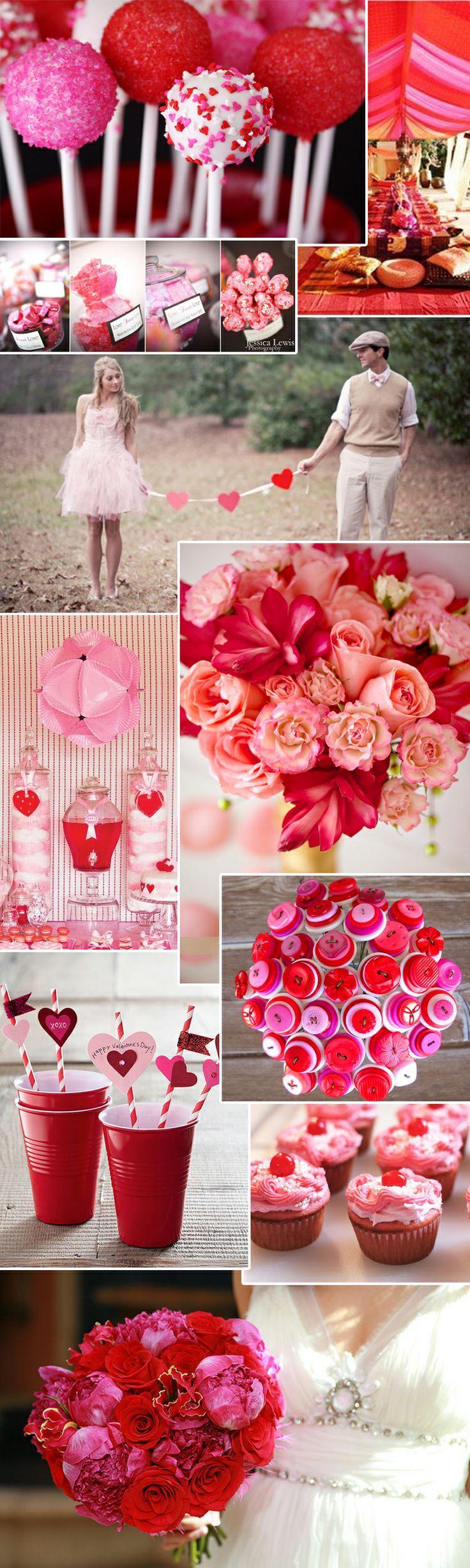 Свадьба - Розовый-Красный-Свадьбы
