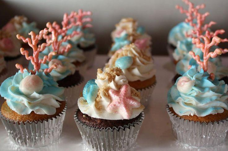 Mariage - Plage orientée Cupcakes