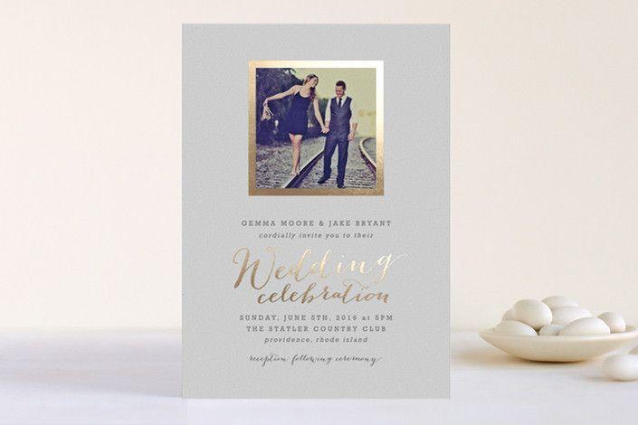 Mariage - Papier, invitations, économie-le-dates, cartes de menu Etc!