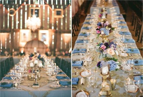 Barn Wedding Lavender And Ash Barn Wedding Decor