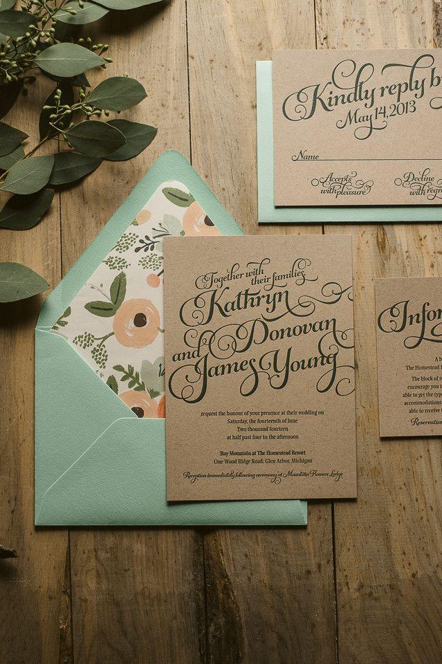Mariage - Invitations