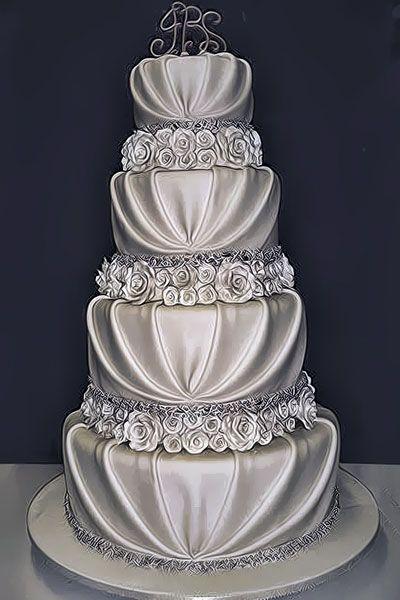 Romantische Hochzeit 10 Hubsche Romantische Hochzeitstorten