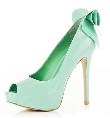 Mint Wedding - River Island Mint Green Shoes #2070901 - Weddbook