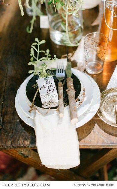 Hochzeit - Der verzauberte Wald - Wedding Inspiration