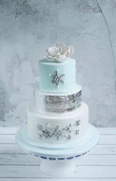Wedding - Winter Wedding Cake