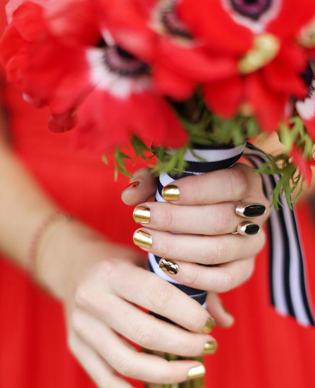 Wedding - A Creative Red, White And Black Wedding In Elverson, PA