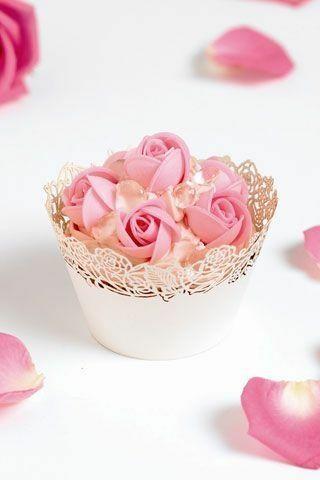 Wedding - Cupcakes - Pink