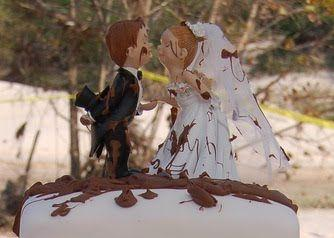 Mariage - Mariages-gâteau, haut de forme
