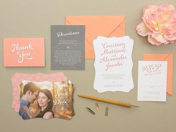 زفاف - حفلات الزفاف: دعوات ورق