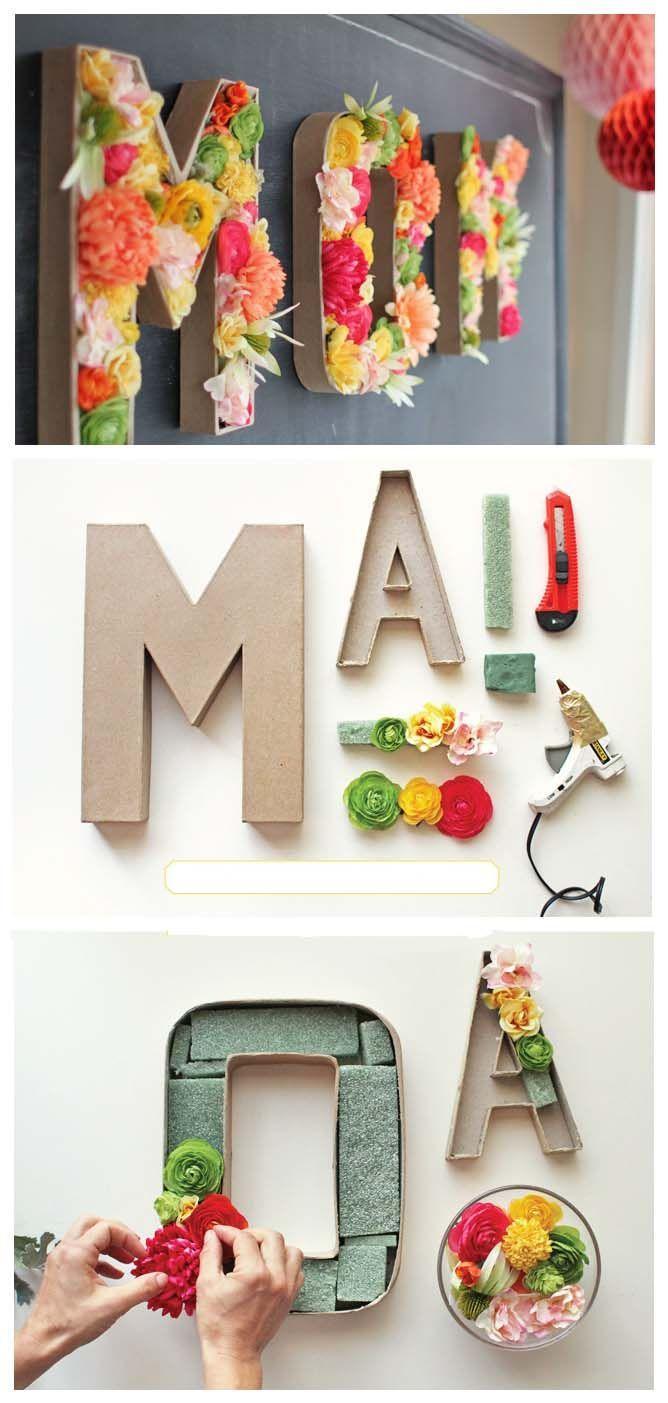 Chinese Wedding Gifts For Brides Parents : Decoracion con letras para boda de d?aForo Manualidades para ...