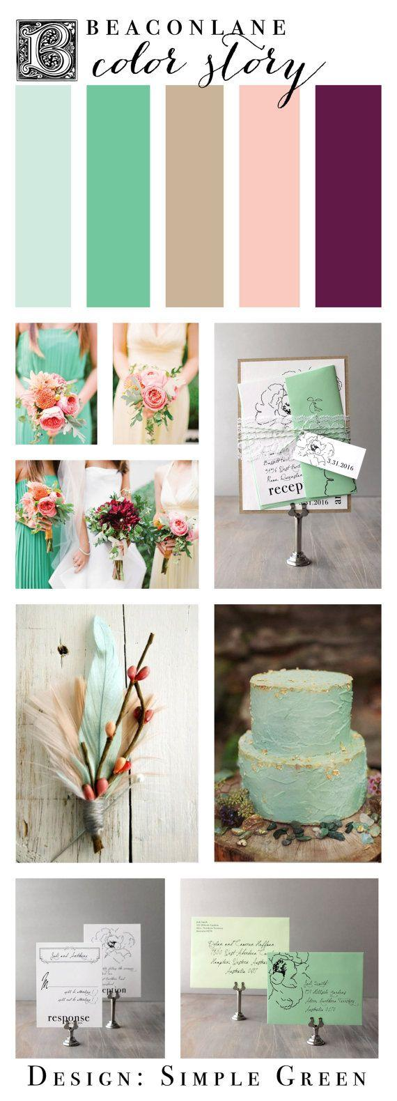 Wedding -  Mint Green Wedding