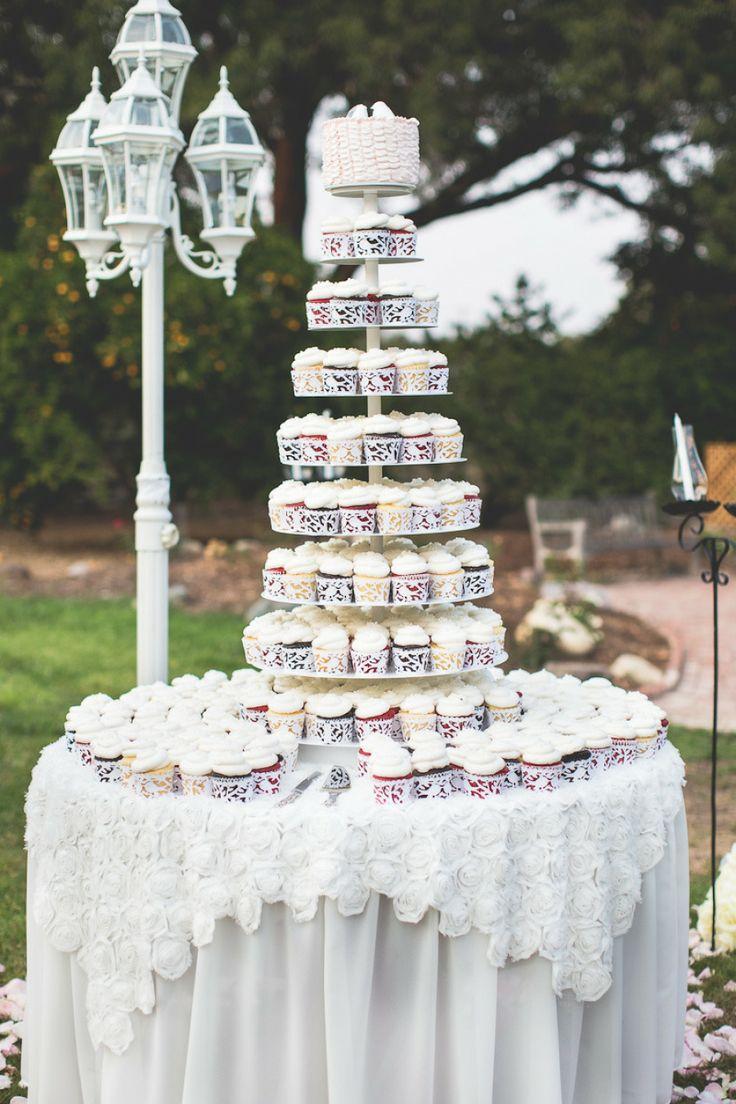 Wedding Cupcakes - Garden Party {Wedding} #2072742 - Weddbook