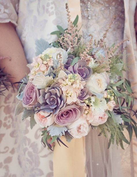 Pastel wedding pastel wedding inspiration 2072853 for Pastel colored flower arrangements