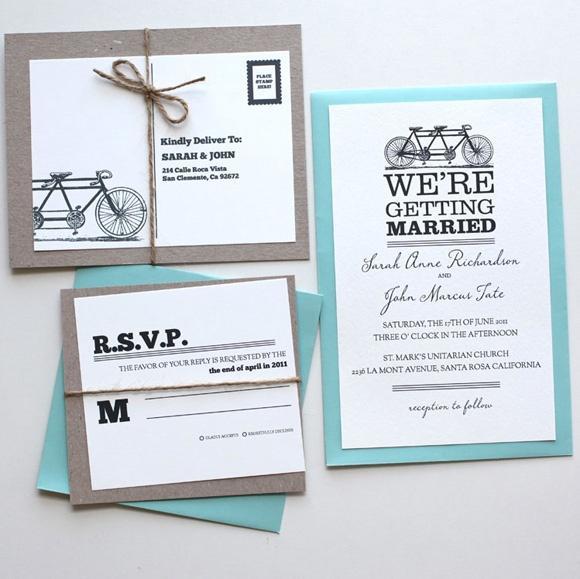 زفاف - يوم أبيض، دعوة