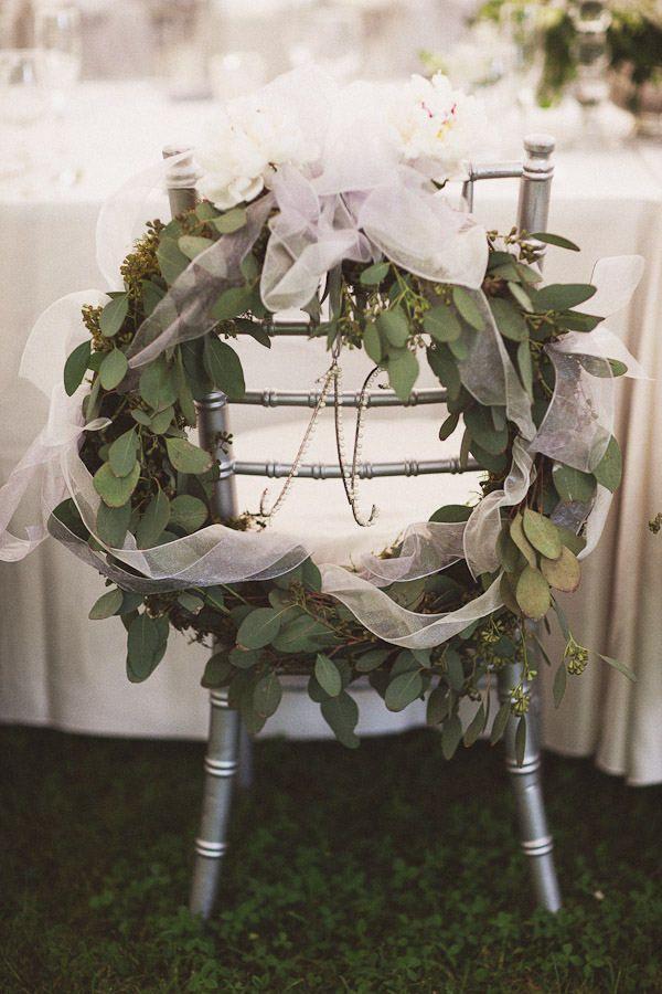 Hochzeit - Bride & Groom Stühle / / Sillas Novios