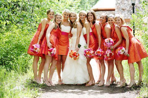 زفاف - البرتقال الإلهام الزفاف