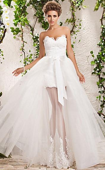 زفاف - فساتين زفاف قصيرة