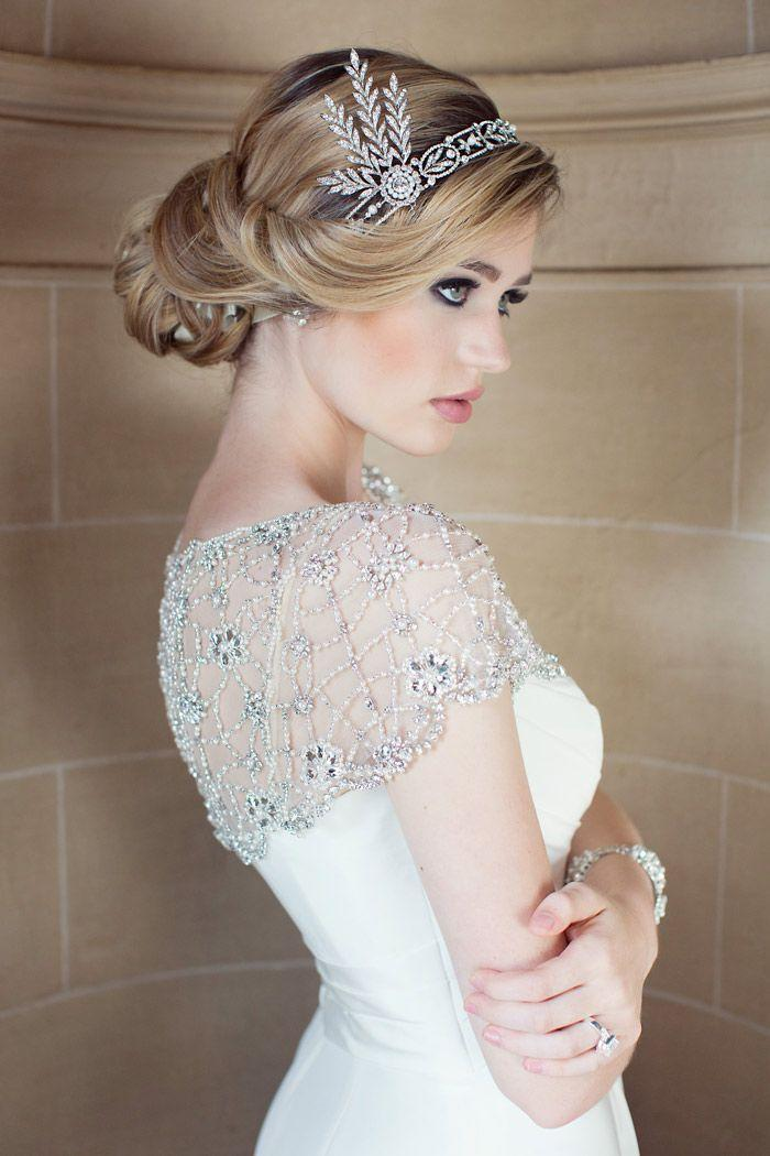 23 Stunning Wedding Hairstyles for Any Wedding. http://www.modwedding.com/2014/02/06/23-stunning-wedding-hairstyles-for-any-wedding/ wedding weddings fashion ha