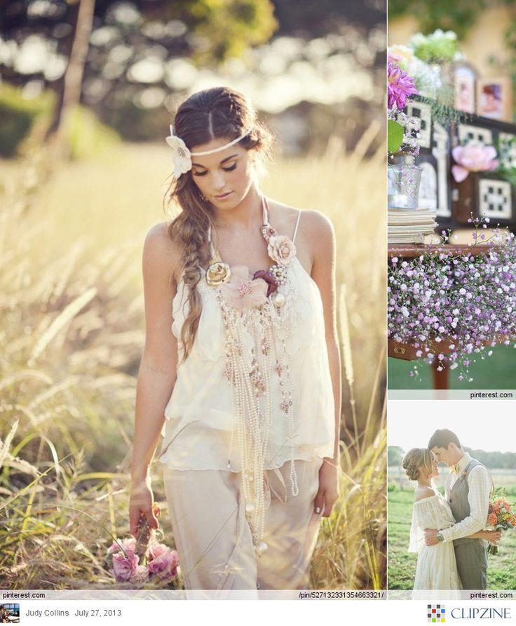 Bohemian Wedding - BoHo Chic Wedding... #2074115 - Weddbook