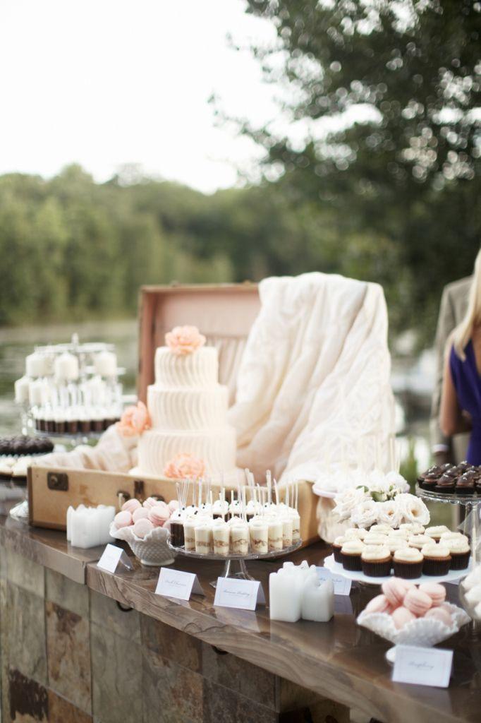 Hochzeit - Dessert Tabellen