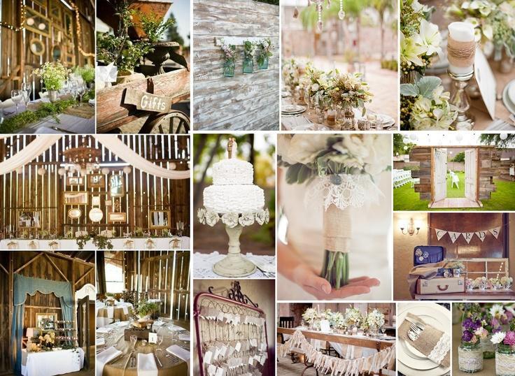 Country Western Inspiration boda