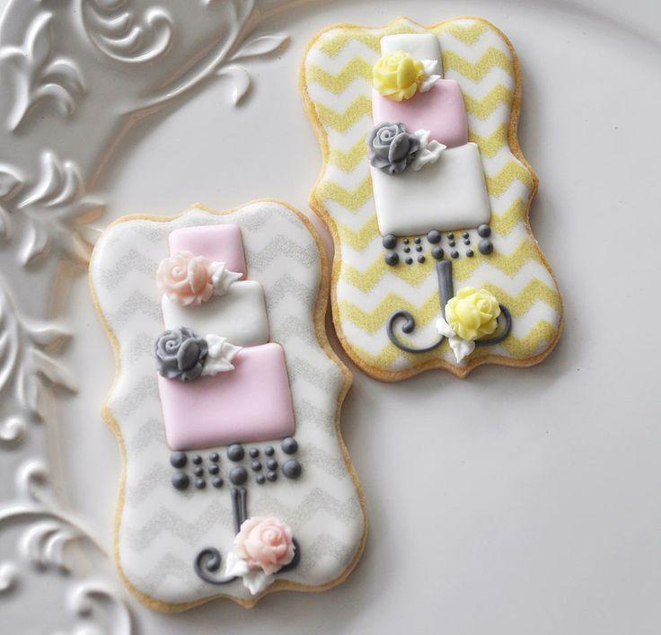 Hochzeit - Cookies: Wedding / / Engagement / / Dusche