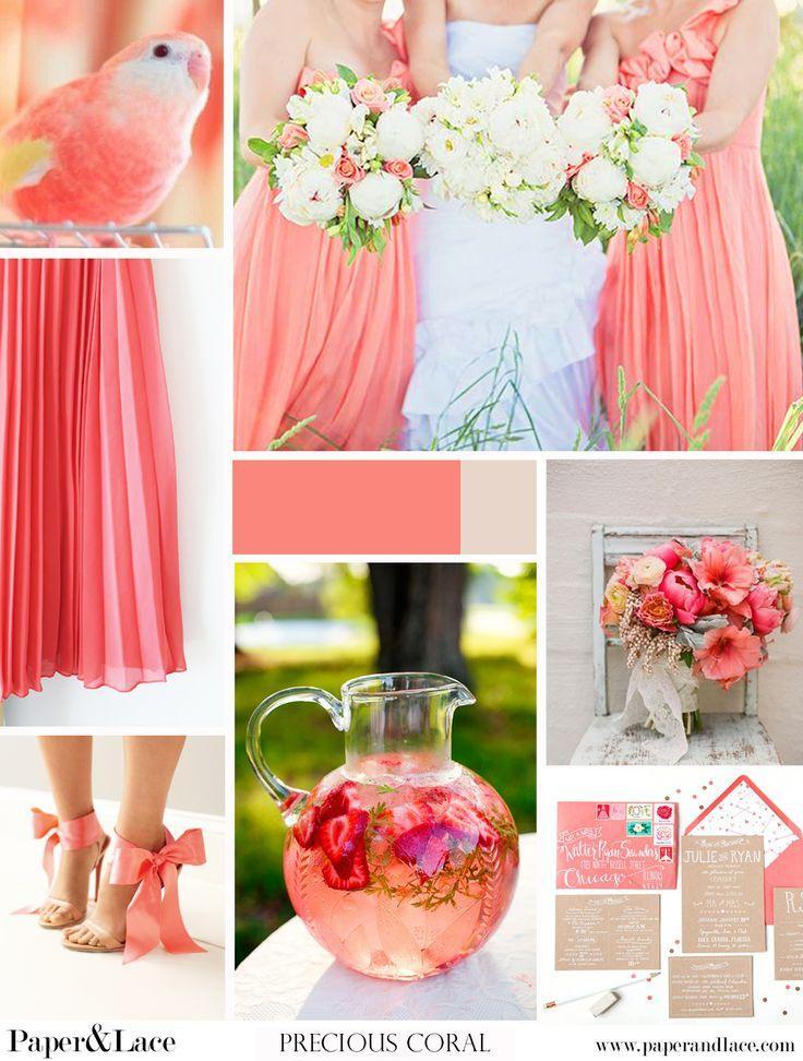 Coral Wedding - Peach Coral {Wedding} #2075695 - Weddbook