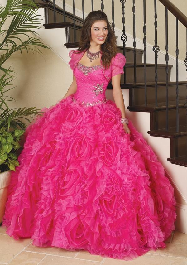 Wedding - Organza With Beading Bridesmaids Dresses