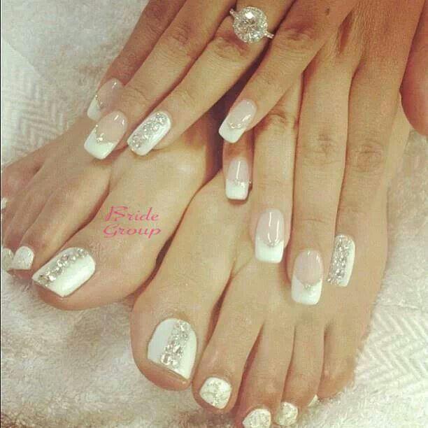 Wedding - Manicures And Pedicures - Bride's Bridal Look