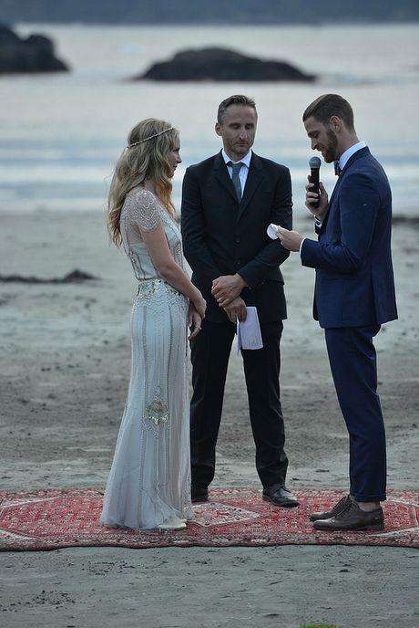 زفاف - الزفاف في الهواء الطلق