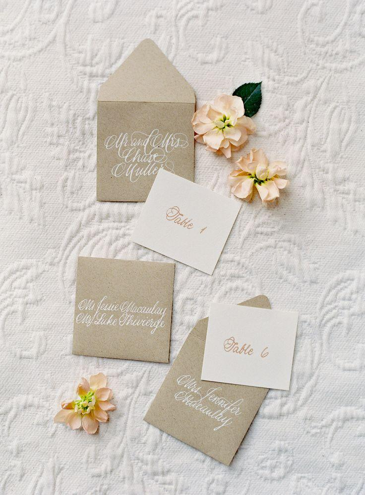 Wedding - ESCORT CARDS