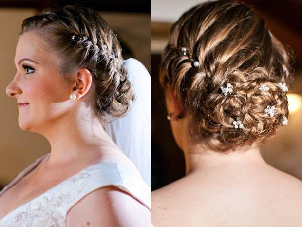 Косы на средние волосы: плетение, варианты