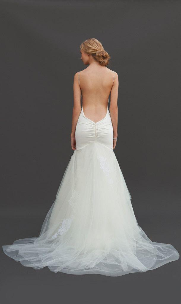 Backless dresses backless wedding gowns 2076968 weddbook for Backless wedding dress bra