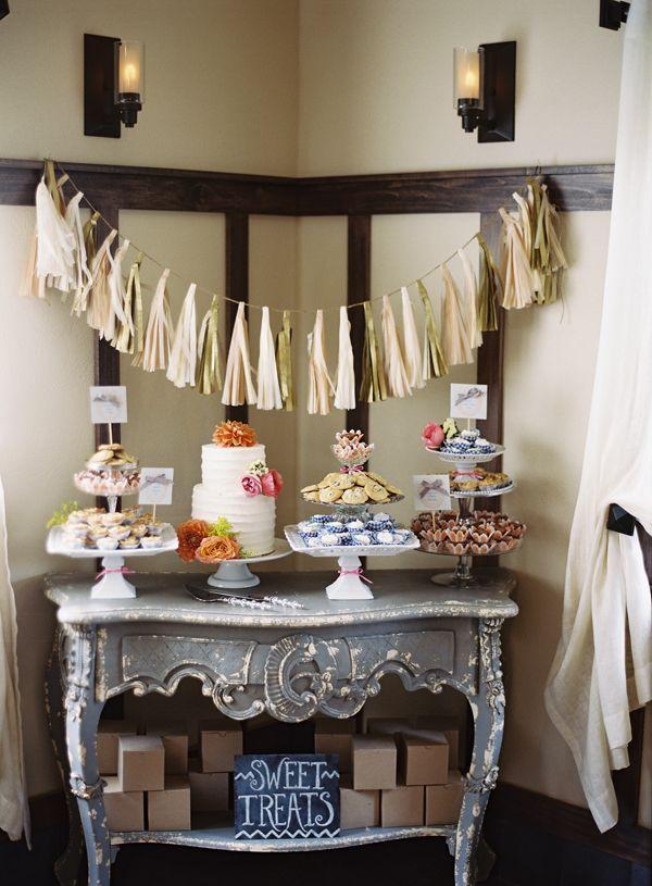 Свадьба - Десерт Таблица