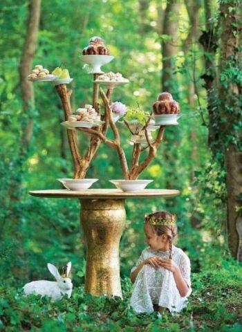 Woodland Wedding Cakes Fairys