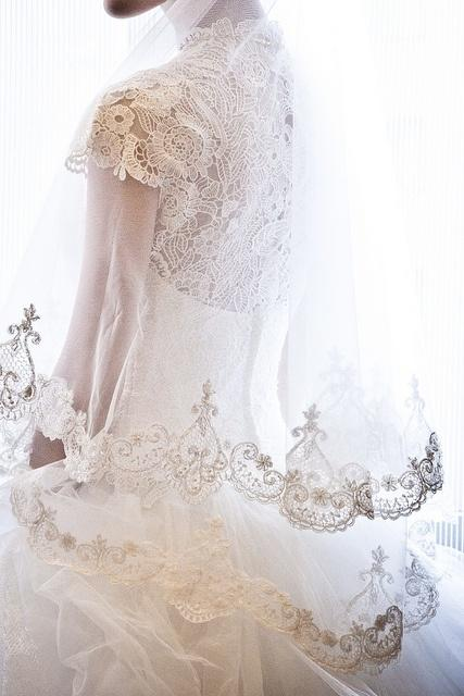 Свадьба - вуаль