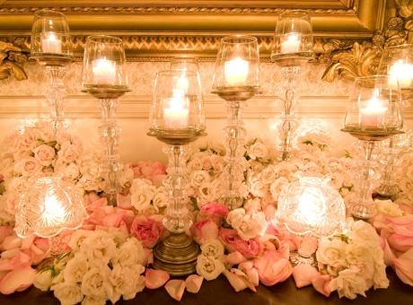 Romantic Vintage Table Settings