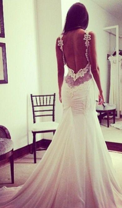 Kleid hochzeit ruckenfrei